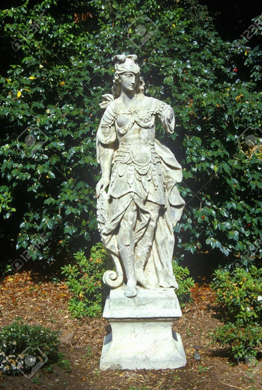 Statuary In Huntington Library And Gardens Pasadena Ca Stock