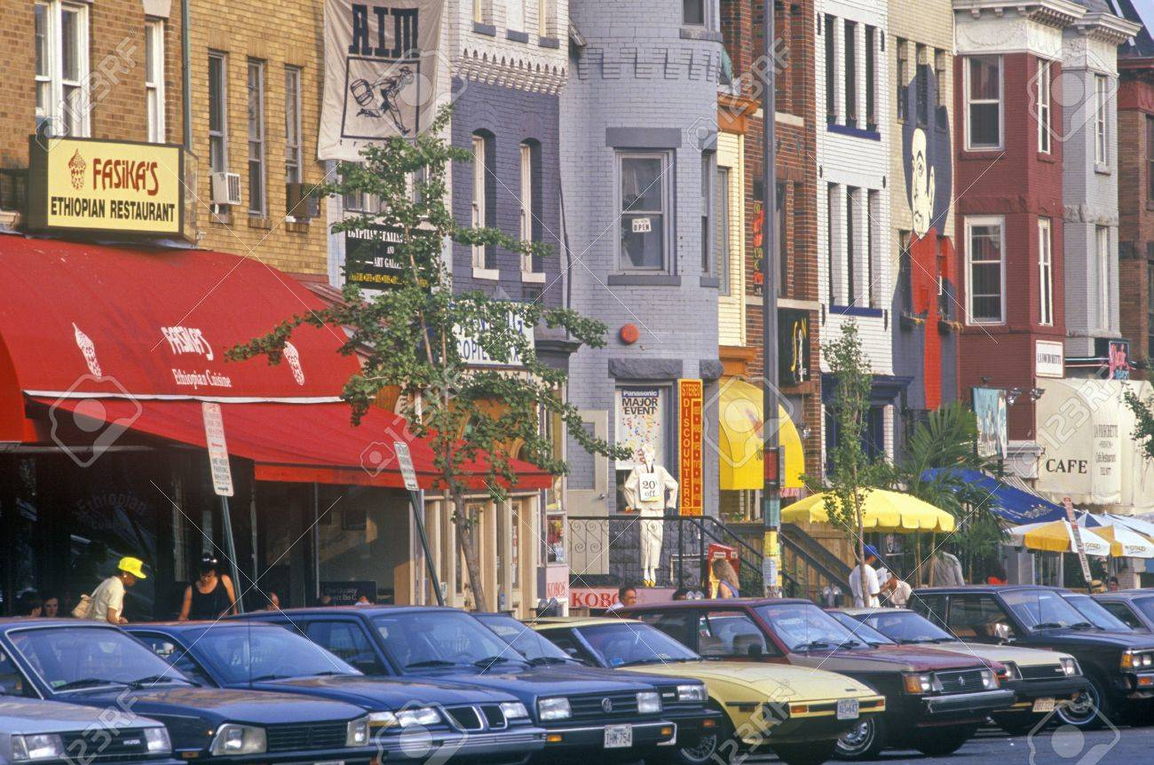Ethnic Restaurants In The Adams Morgan District Washington