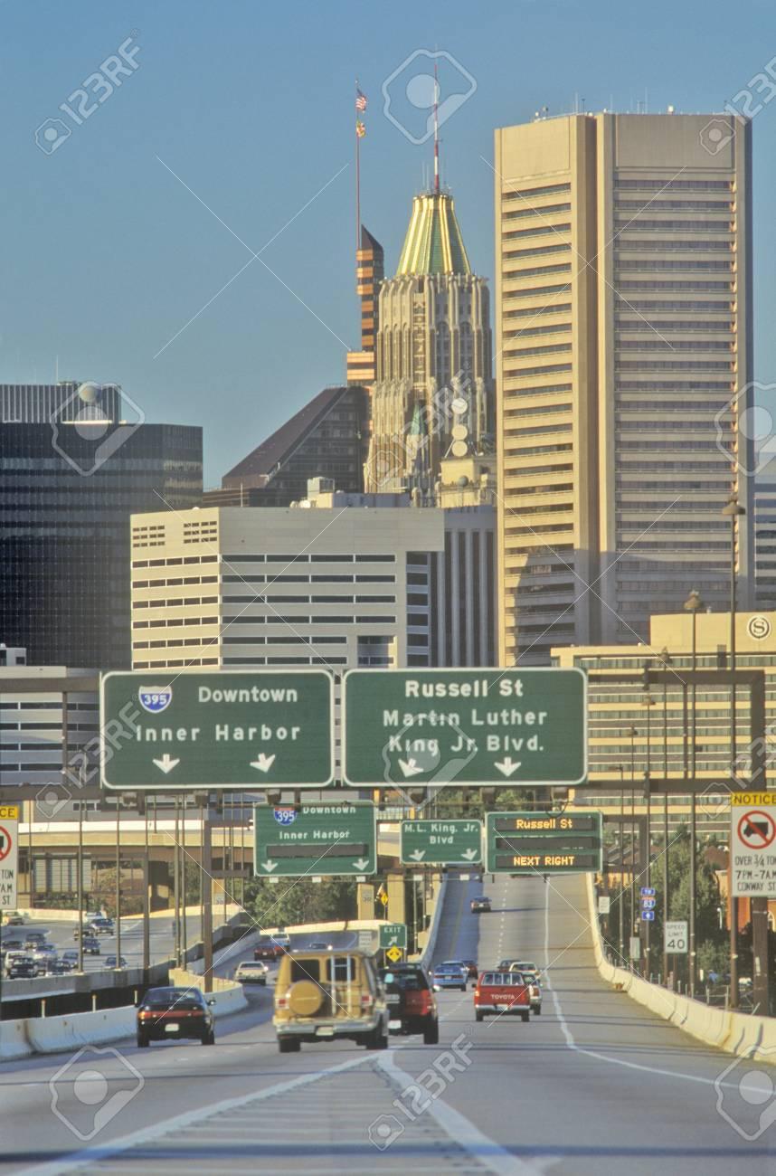 Rush Hour Traffic, Baltimore, Maryland