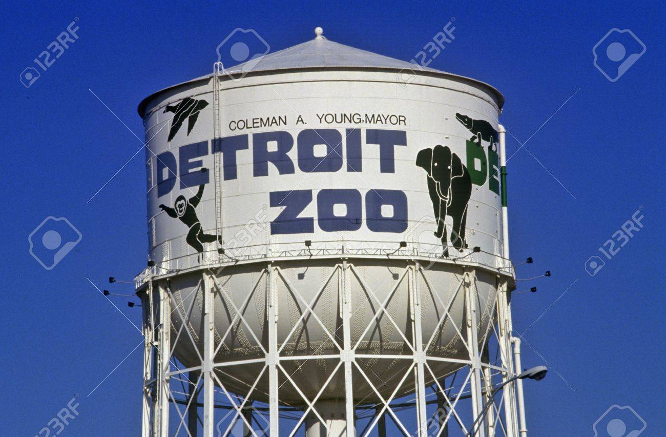 Water Tower At Detroit Zoo In Detroit Mi Stock Photo Picture And Royalty Free Image Image 20515804