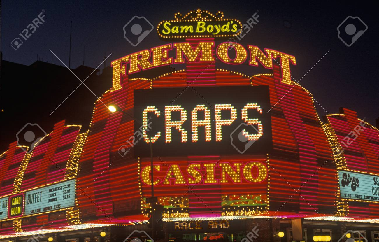 Astonishing The Fremont Hotel And Casino At Night Downtown Las Vegas Nv Download Free Architecture Designs Crovemadebymaigaardcom