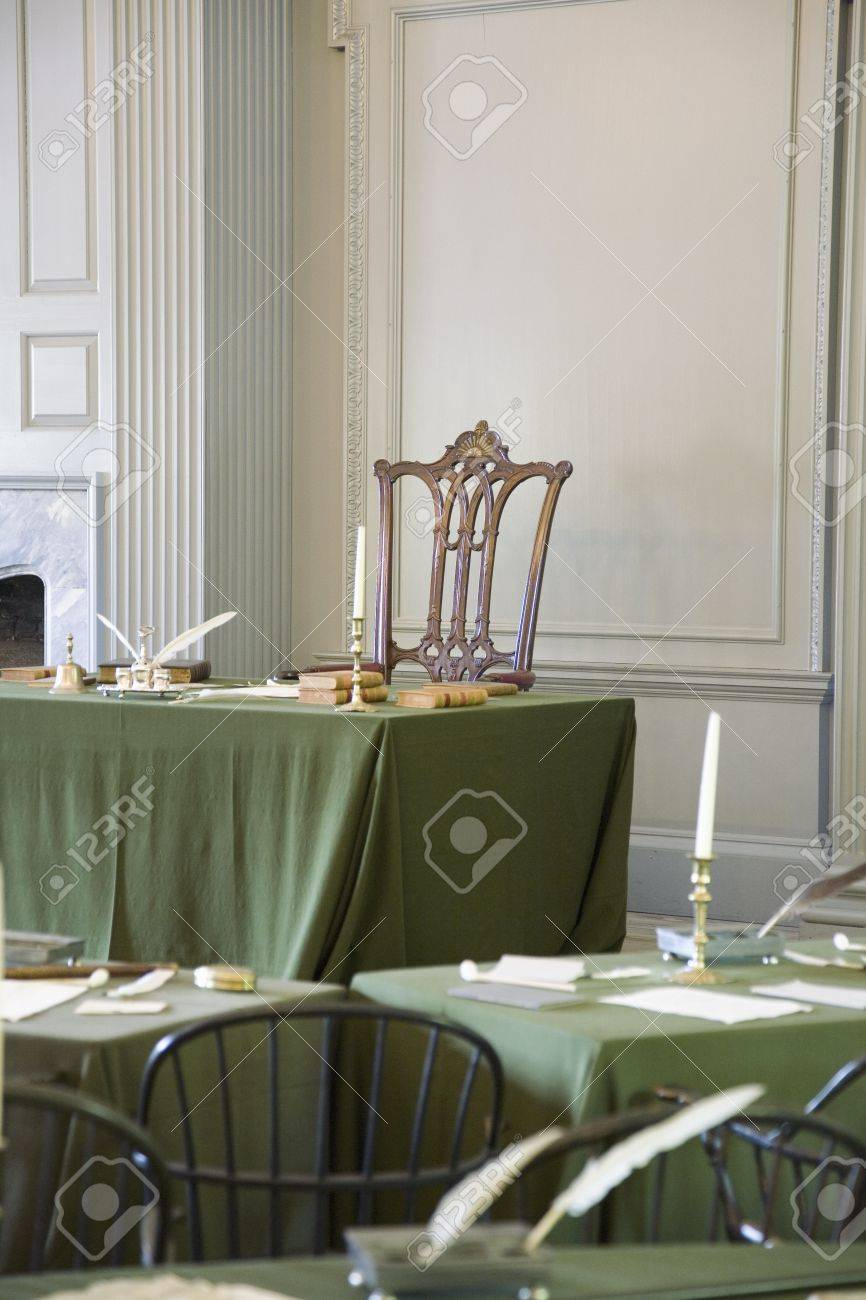 Charmant Restored Assembly Room With Rising Sun Chair Of George Washington,  Independence Hall, Philadelphia,