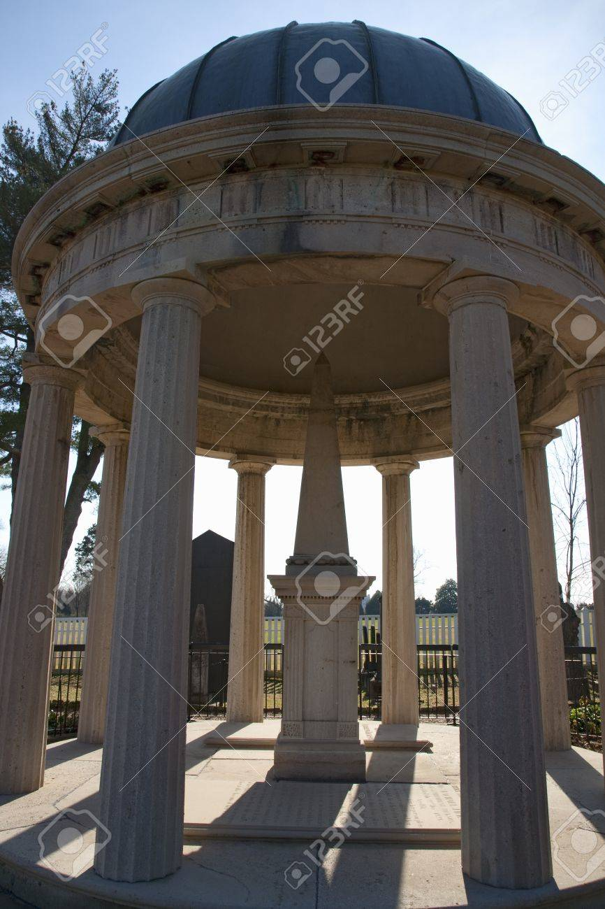 Tomb Of Andrew And Rachel Jackson At The Hermitage Garden, Nashville ...