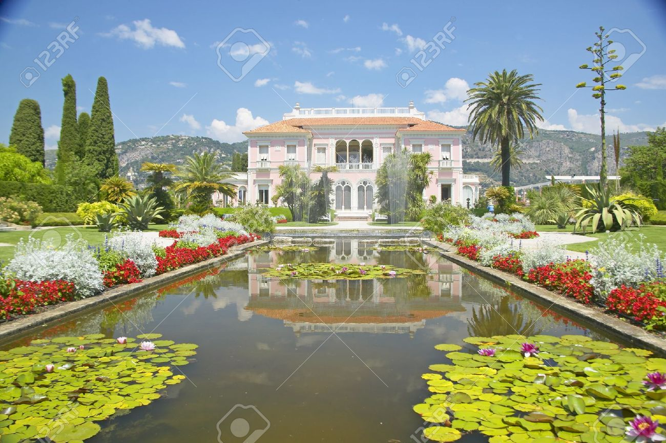 The Gardens And Villa Ephrussi De Rothschild, Saint-Jean-Cap-Ferrat ...