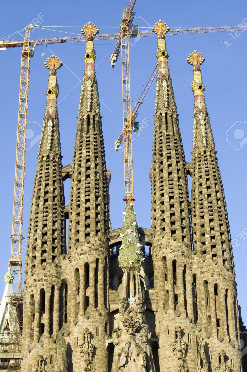 Ancient Technology, Ancient Civilisations, Reset of Civilisations, Made-Up History... 20766092--antoni-gaudi-s-sagrada-familia-or-the-temple-expiatori-de-la-sagrada-familia-was-begun-in-1882-barc