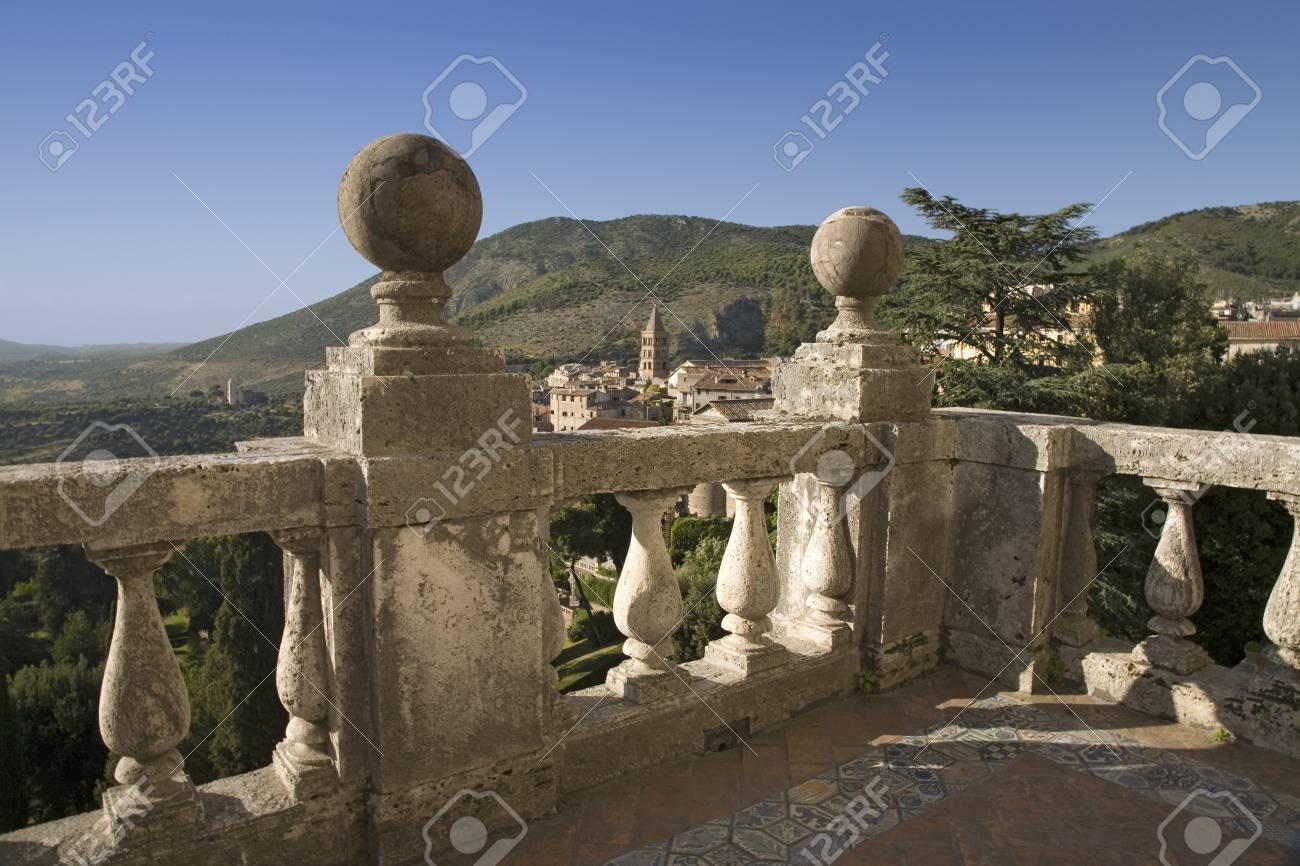 View Of Tivoli From Villa D\'Este Near Rome, Italy, Europe ...