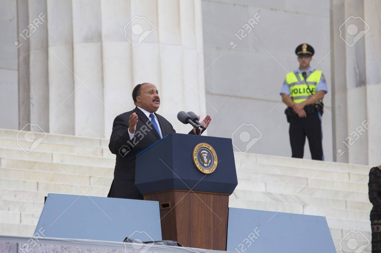 Martin Luther King Iii Son Of The Late Dr Martin Luther King