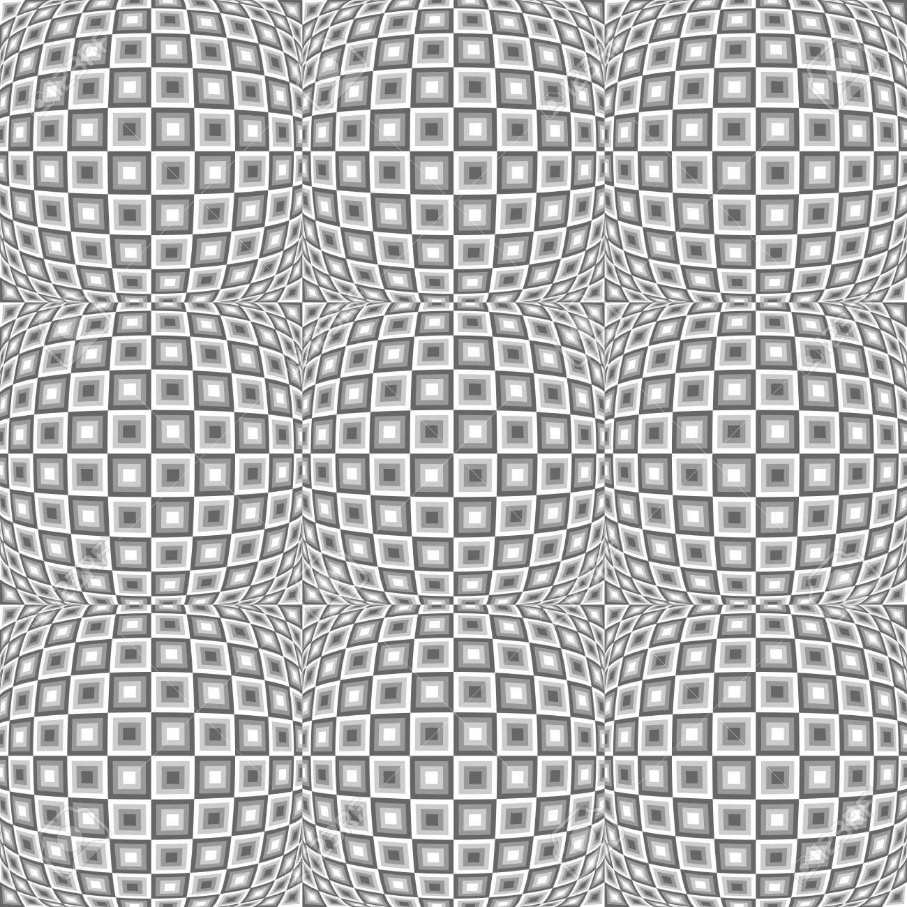 Vettoriale Disegno Senza Soluzione Di Continuità In Bianco E Nero
