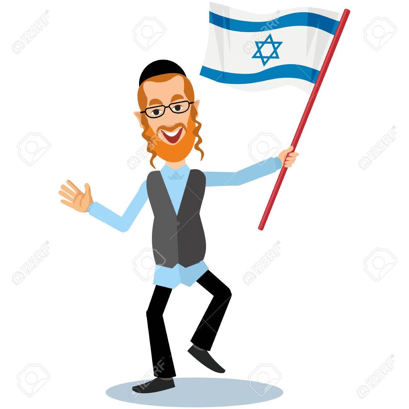 orthodox jew, hassid, rabbi, with Payot and Kippah - 65863316