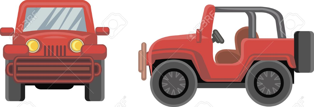 Cartoon Jeep Royalty Free Cliparts Vectors And Stock Illustration Image 66583823