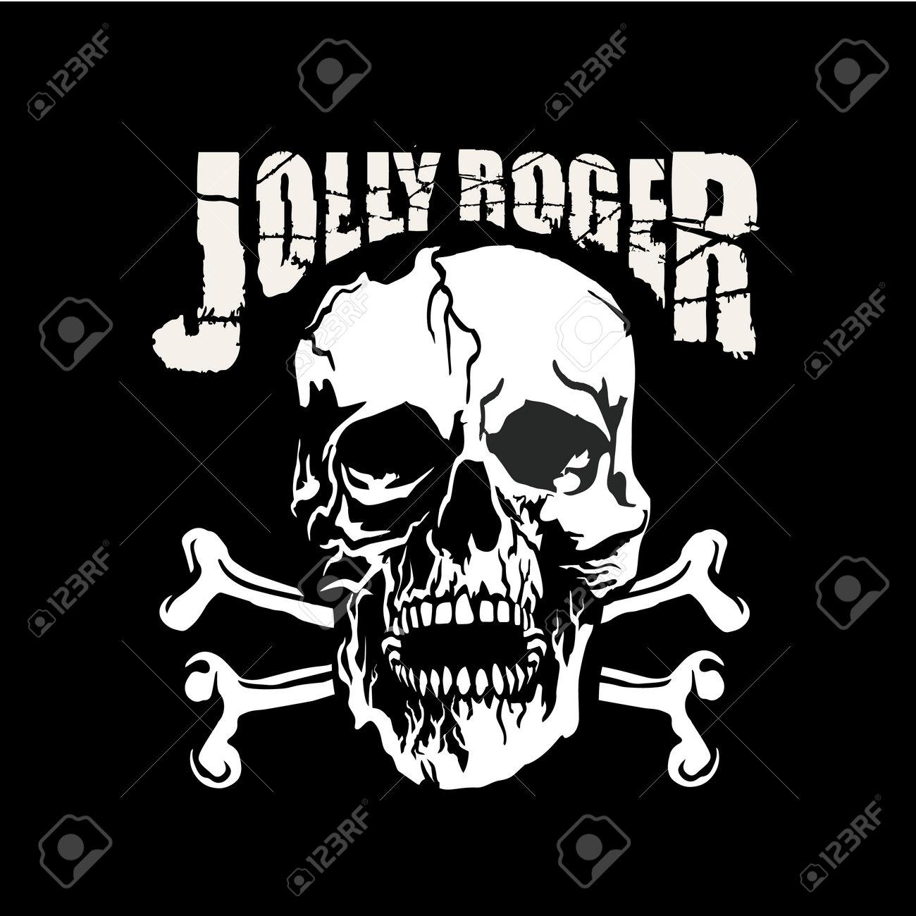 Gothic sign with skull, grunge vintage design t shirts - 168635143