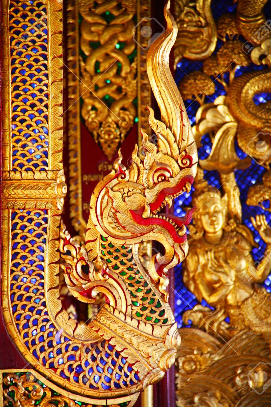 Serpent Gold Image Stock Photo - 7876678