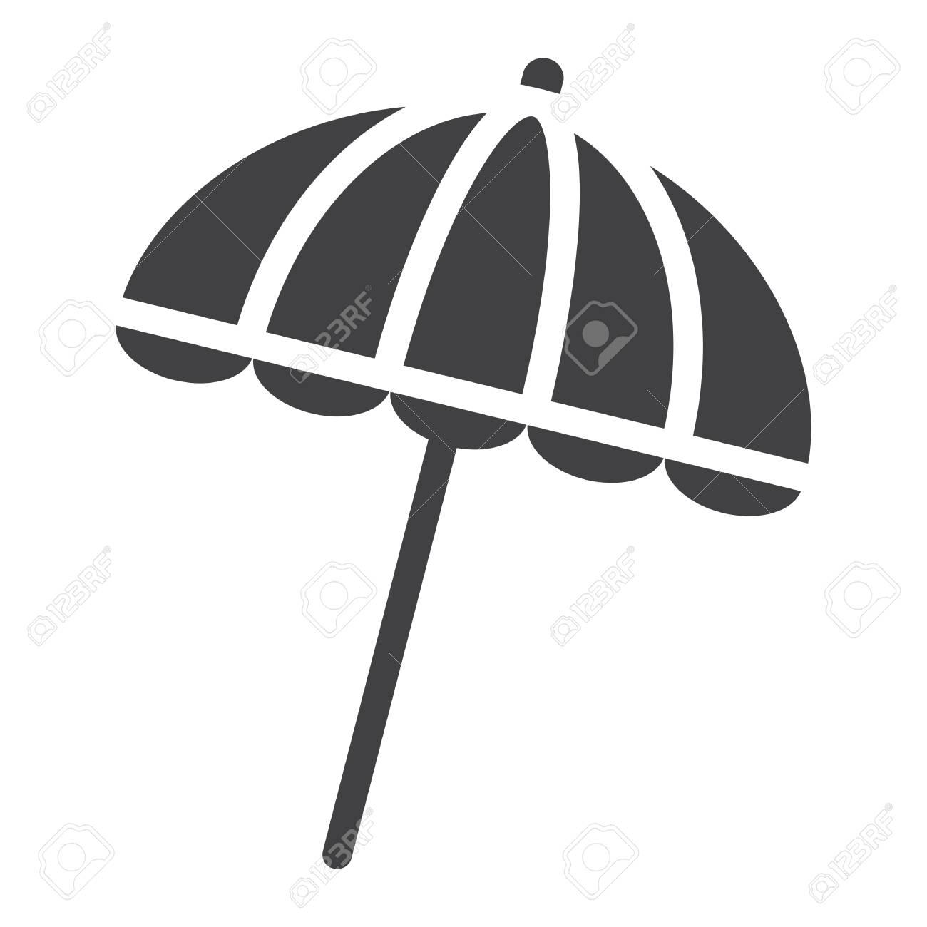 6e0e035a3766 Sun umbrella solid icon, travel and tourism, parasol, a filled..