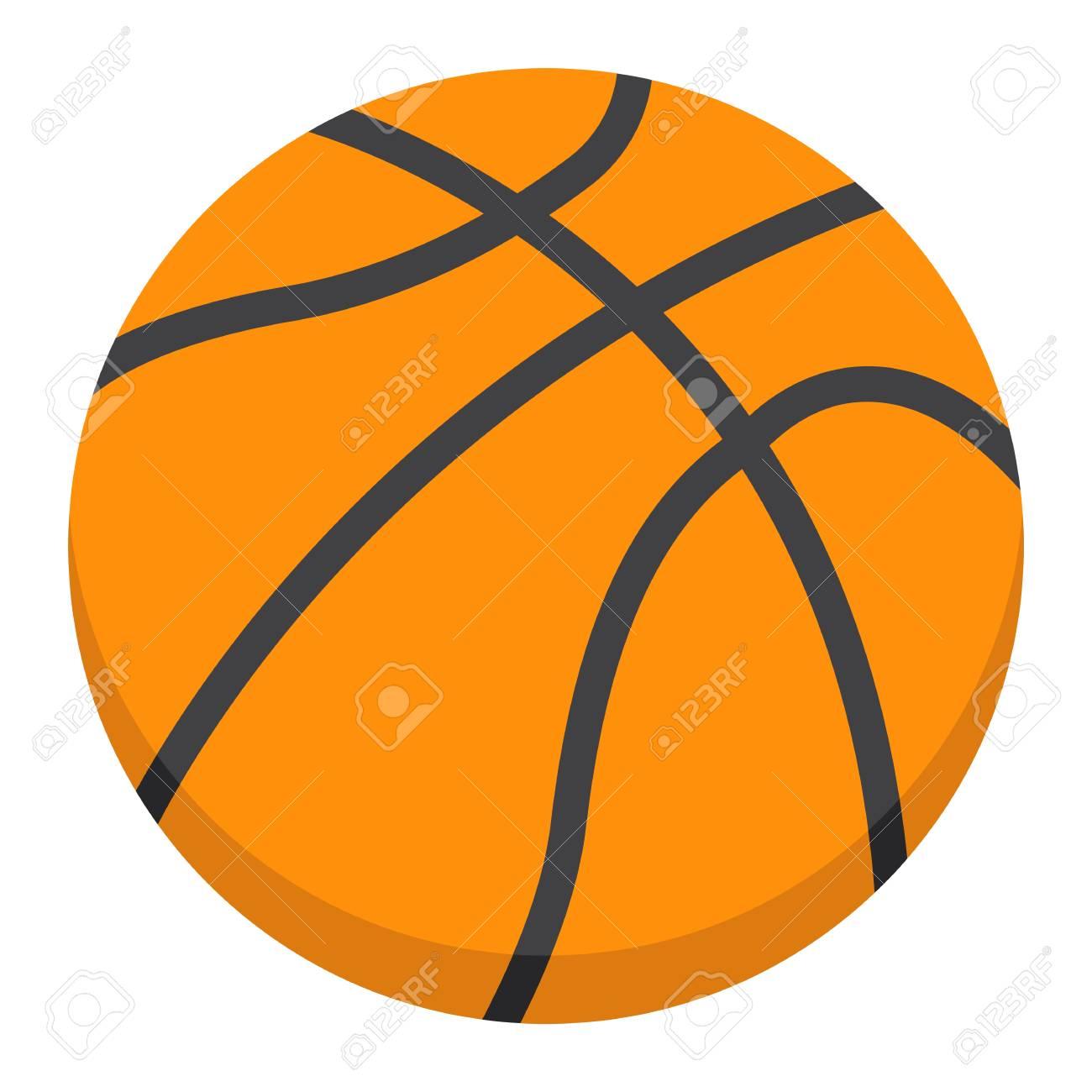 basketball ball flat icon sport and game vector graphics a rh 123rf com basketball graphics clipart basketball graphics design