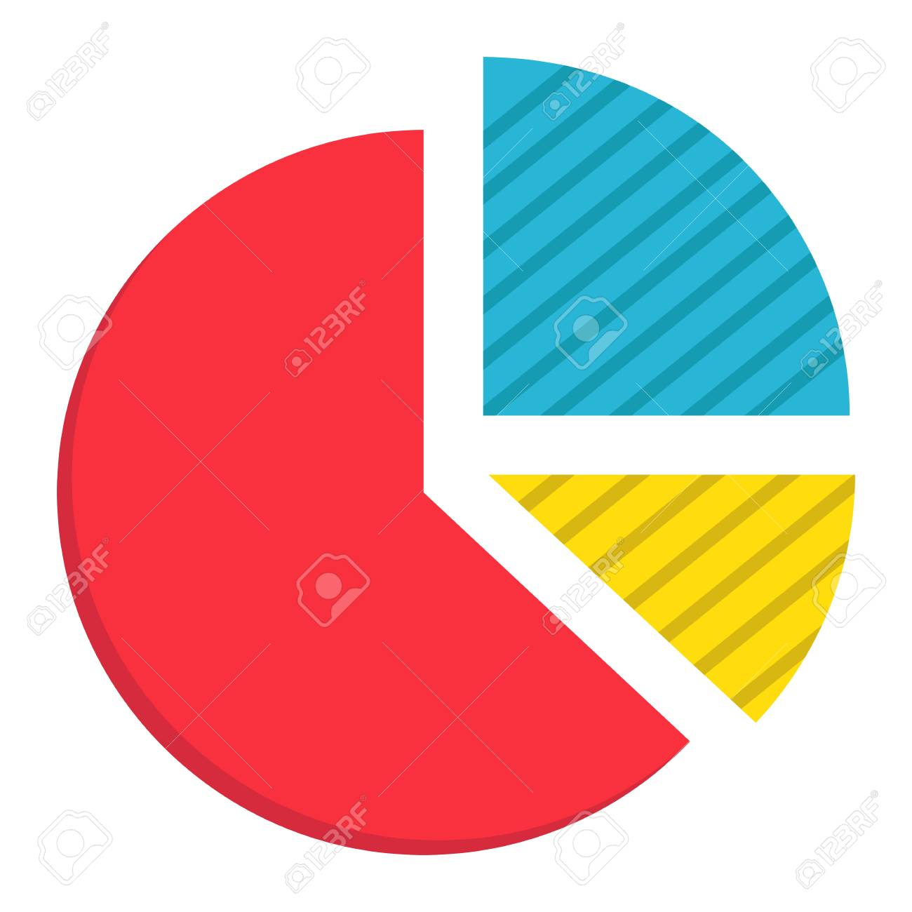 pie chart flat icon business and diagram vector graphics a rh 123rf com pie chart vector png pie chart vector free