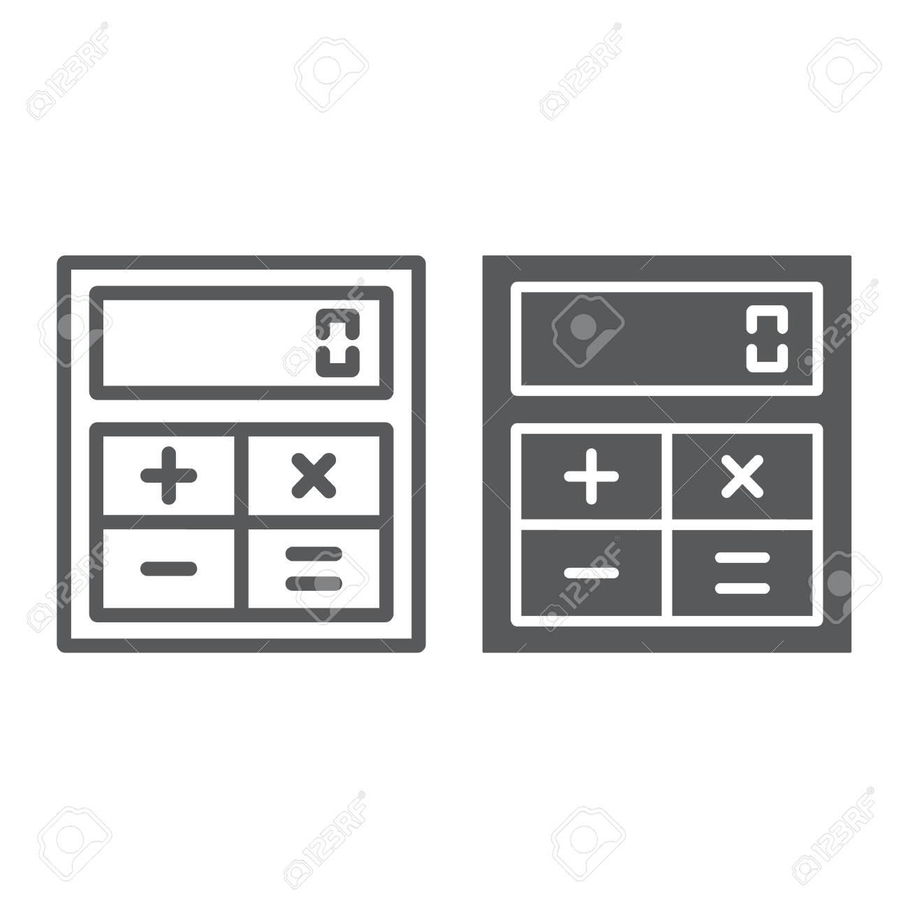 Screen shot of online calculator clinical tool using the quadratic.