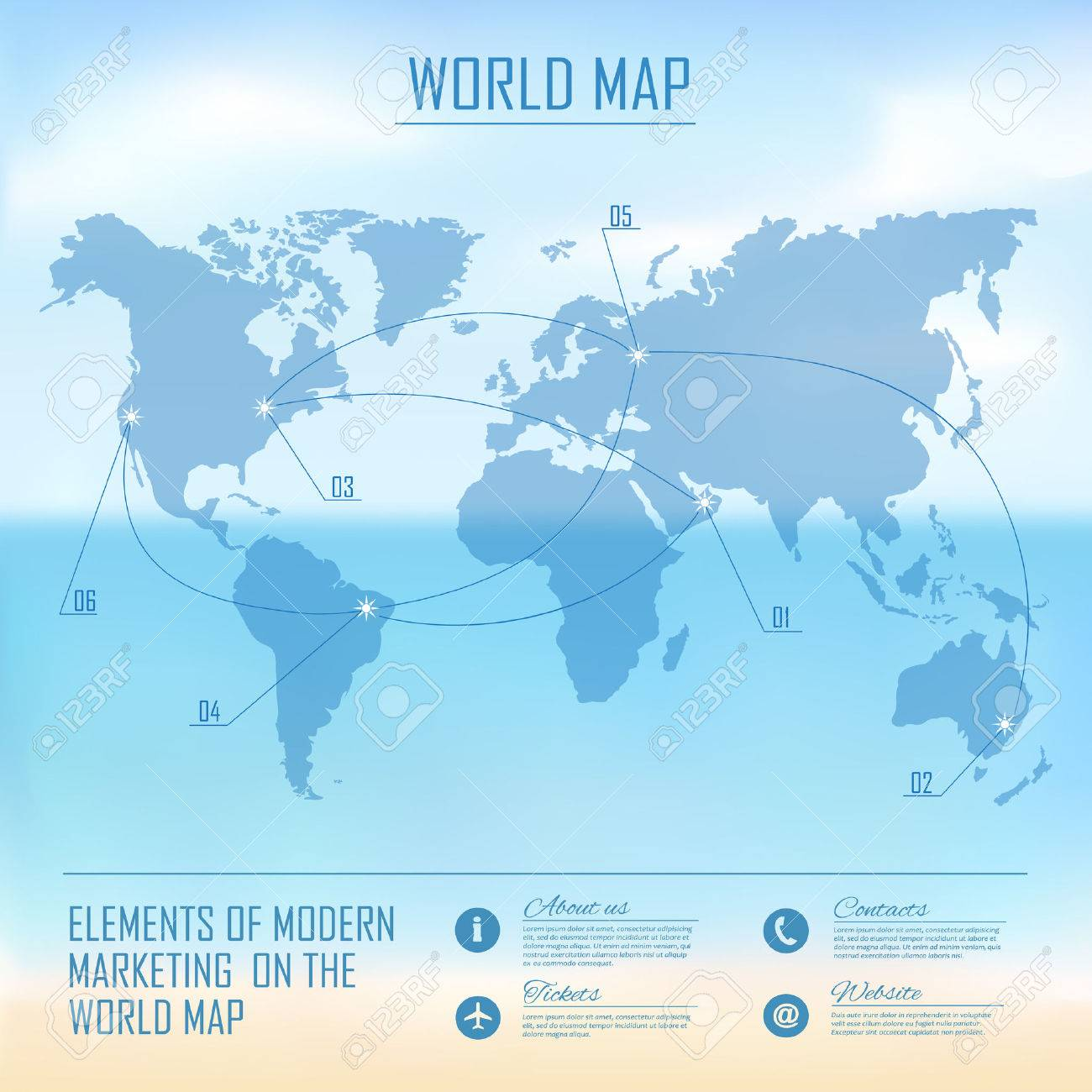 Web and mobile interface background corporate website design vector web and mobile interface background corporate website design world map gumiabroncs Choice Image