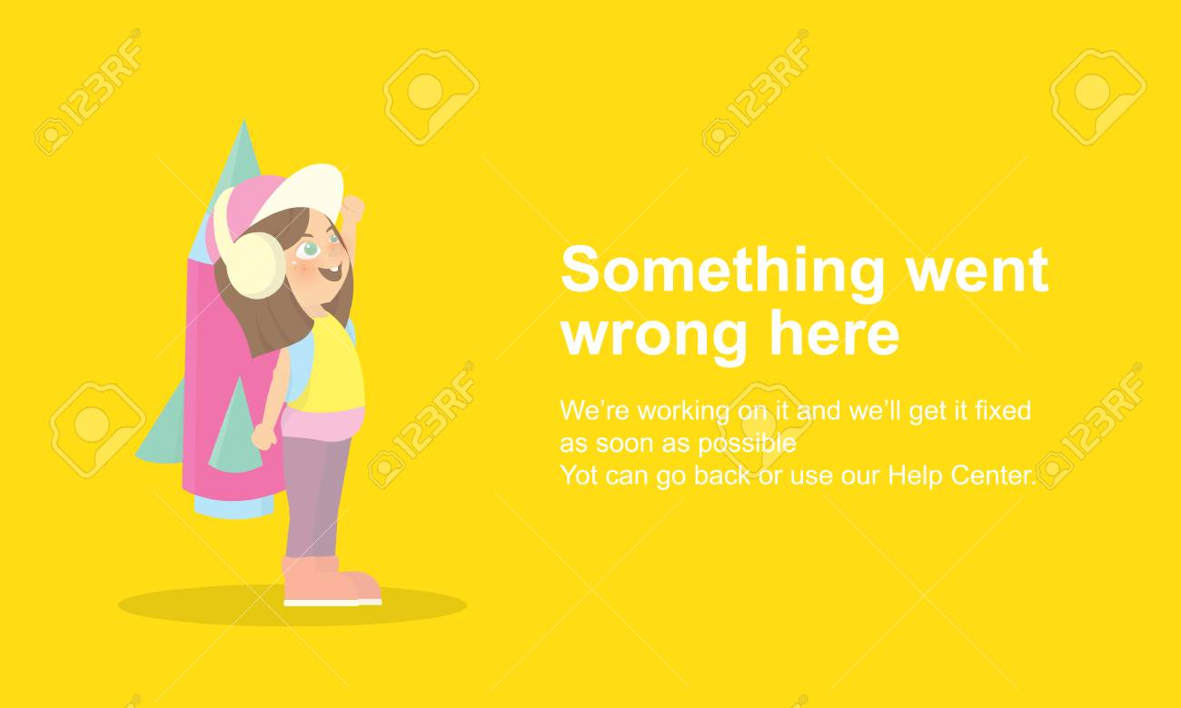 Page Not Found Error 404.Vector template Stock Photo - 73489911