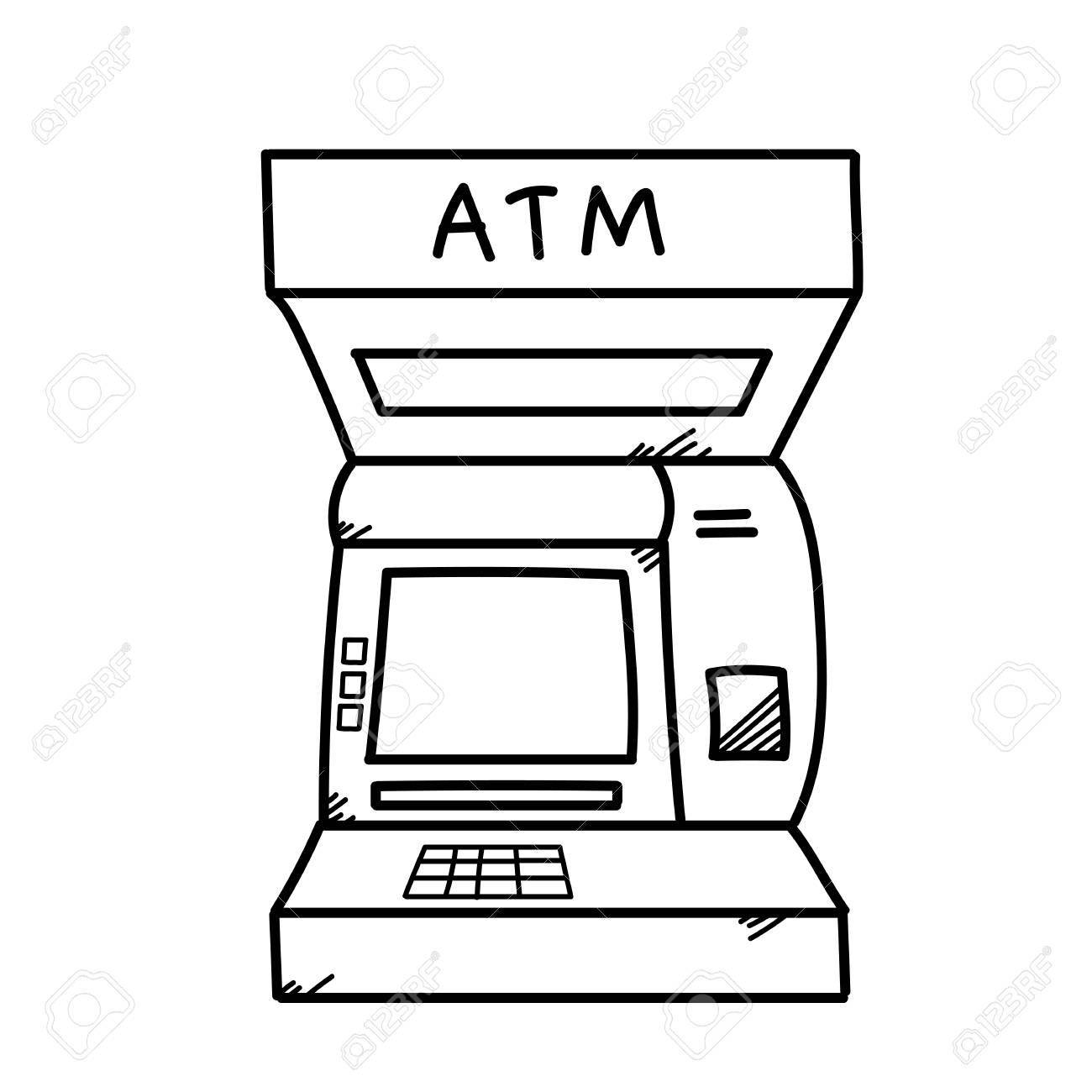 atm India automated teller machine clip art cliparts jpg - Clipartix
