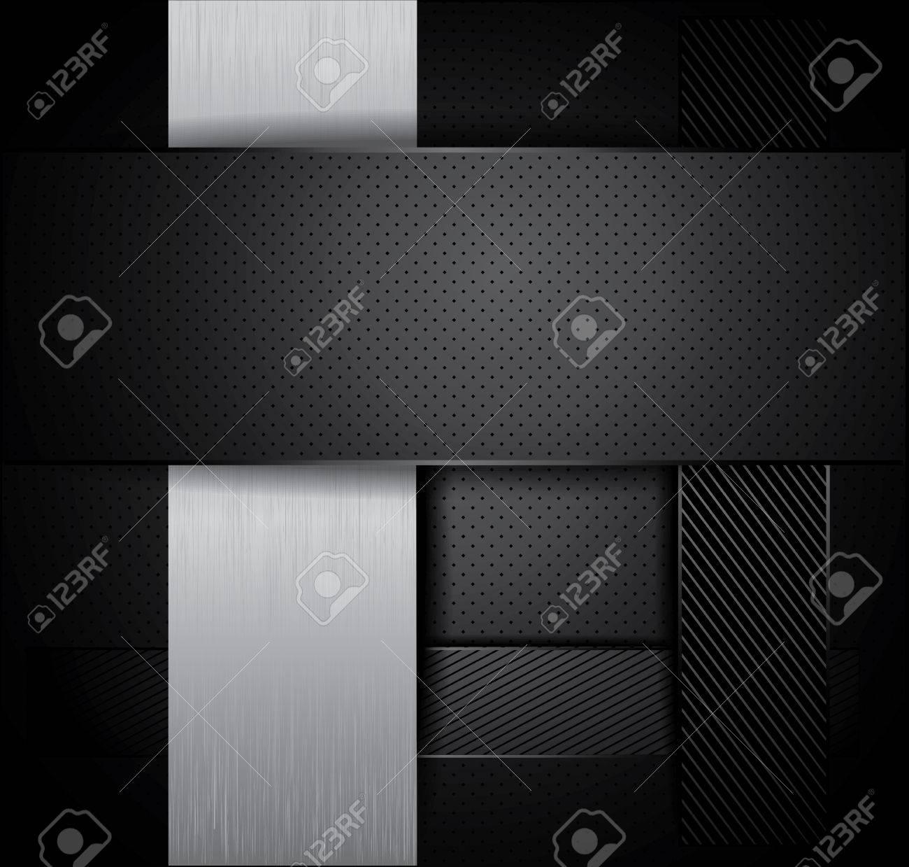 chrome metal background Stock Vector - 22397760