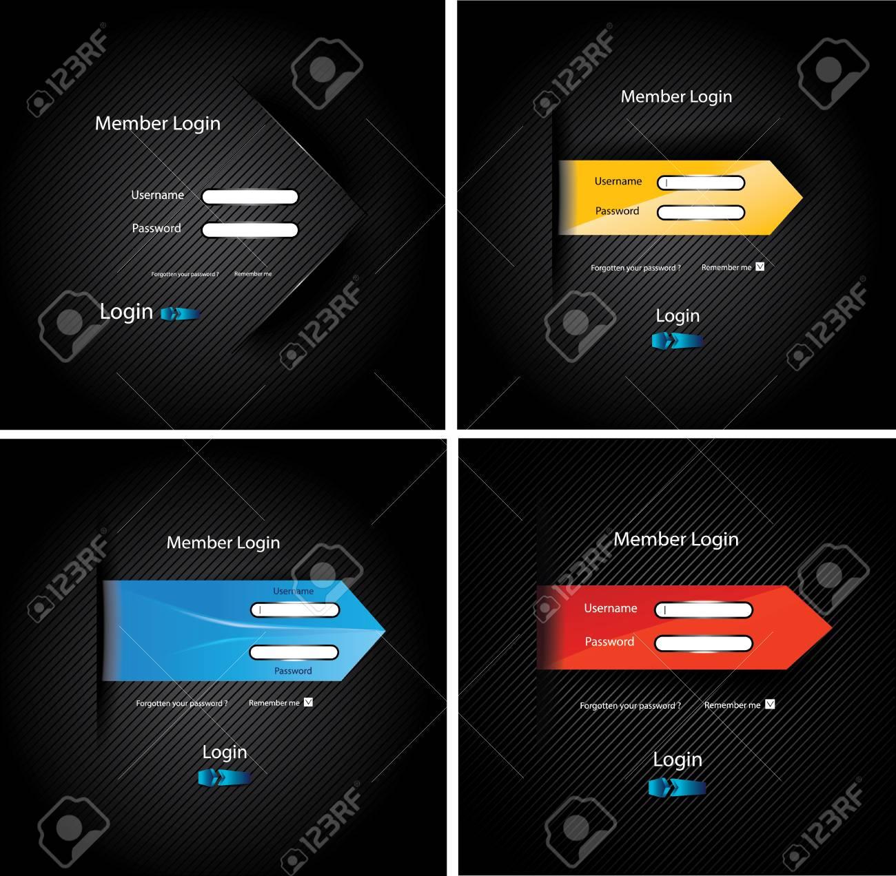 Set web sites Stock Vector - 22397809