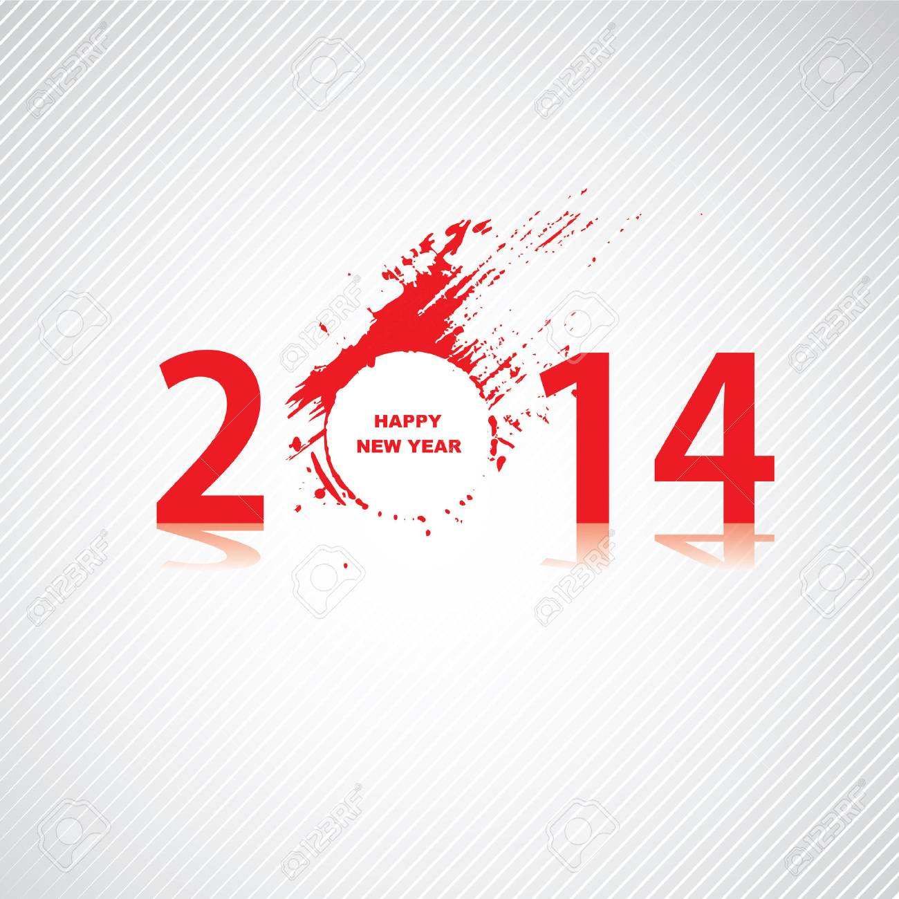 New year 2014 design Stock Vector - 22419806