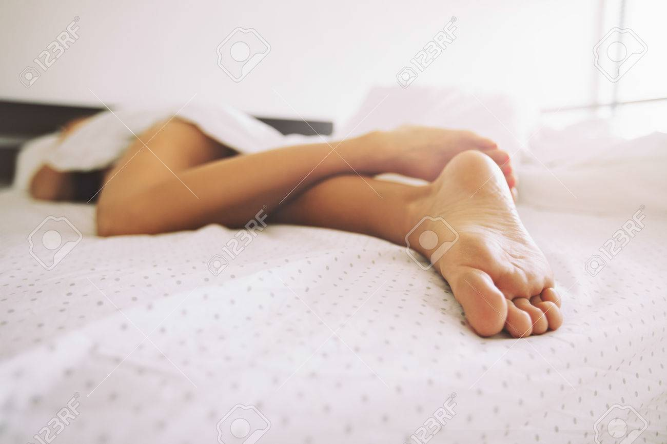 Sexy sleeping feet
