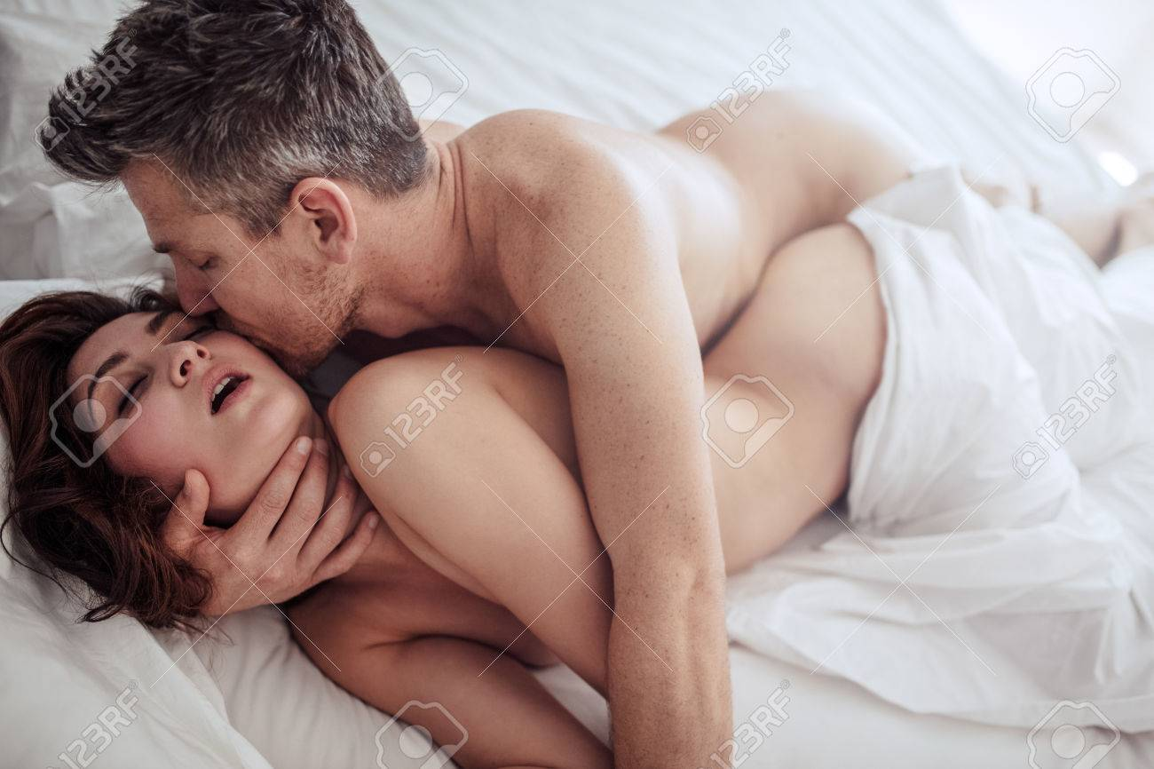 Romantic Couple Bed Sex