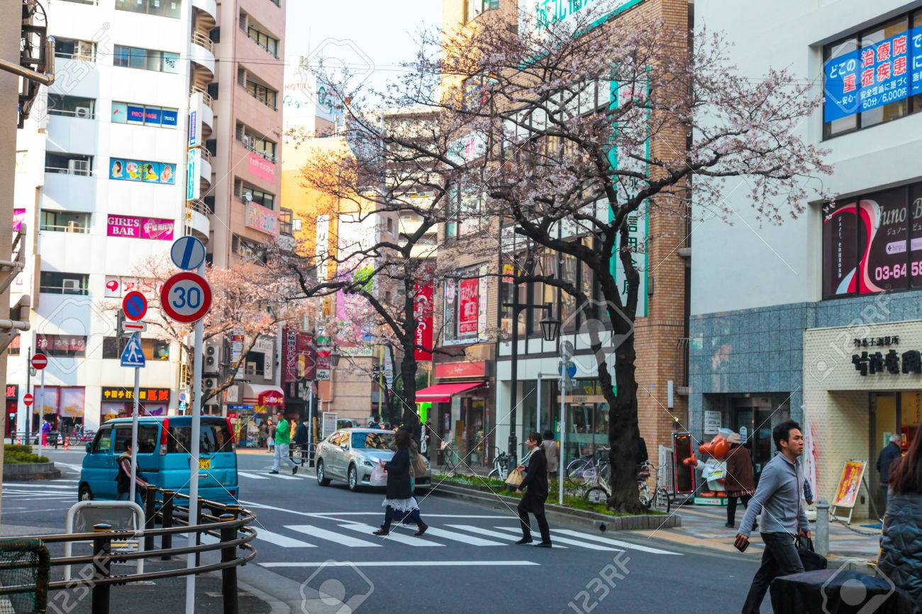 tokyo building and road as street japanese lifestyle | cityscape