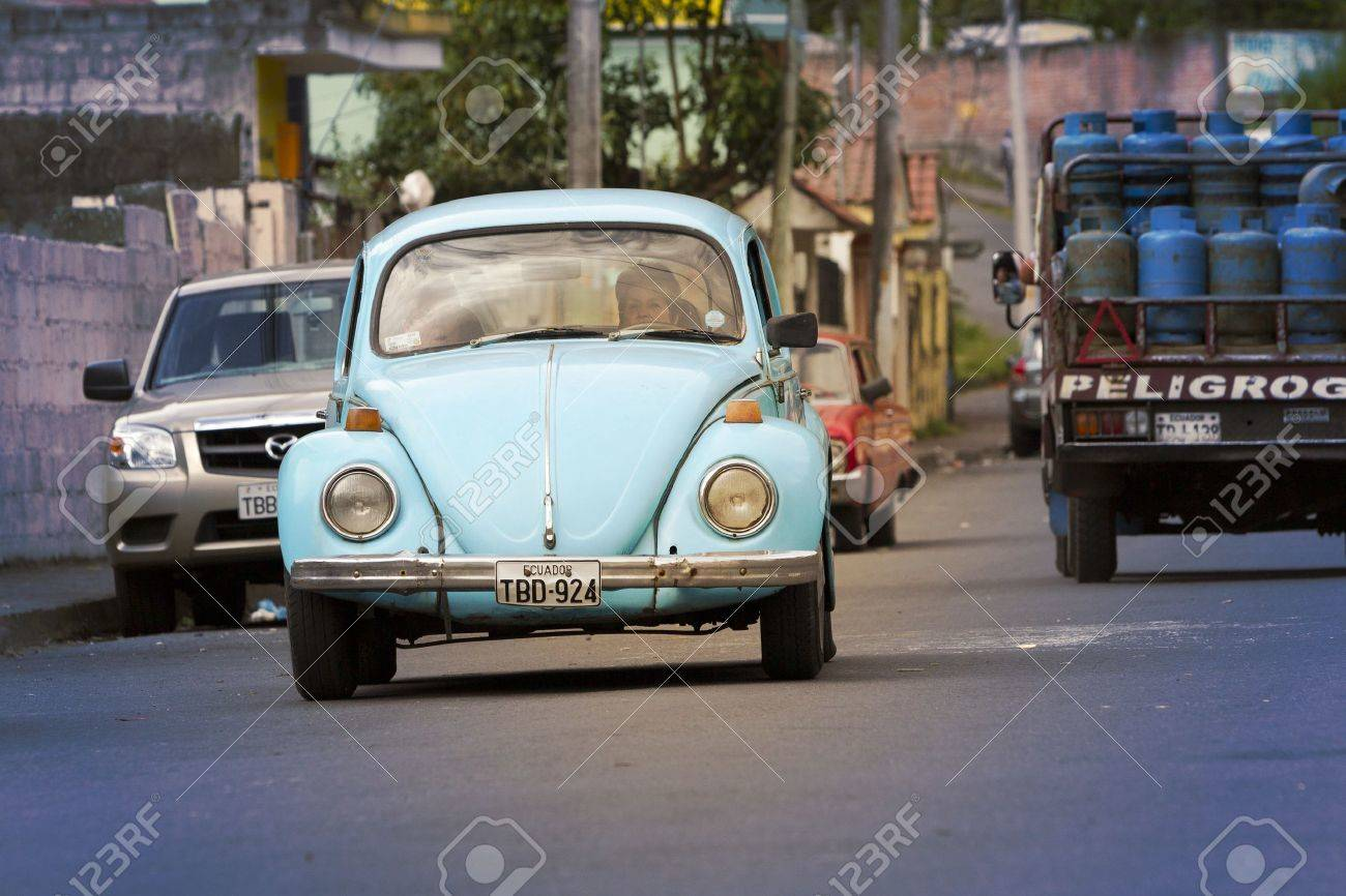 Banos De Agua Santa Ecuador August 11 2012 Old Fashioned Stock Photo Picture And Royalty Free Image Image 14756806