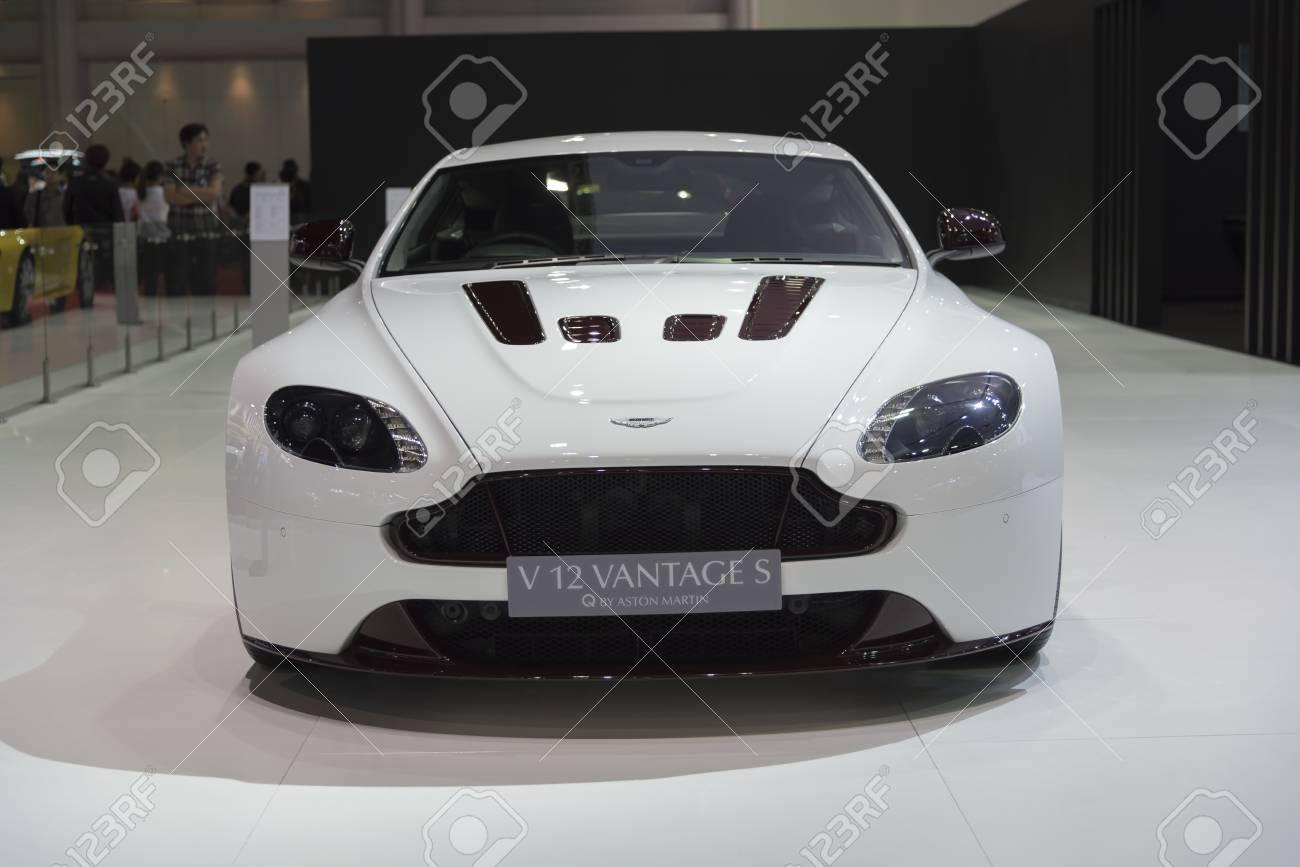 Bangkok Thailand April 4 Aston Martin V 12 Vantage S Series Stock Photo Picture And Royalty Free Image Image 38300336