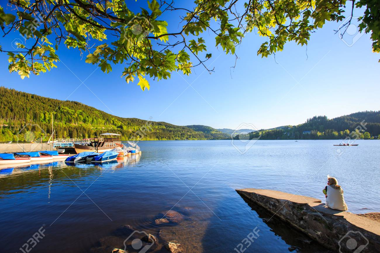 Lake Titisee Neustadt In The Black Forest Germany Stock Photo Picture And Royalty Free Image Image 81034389
