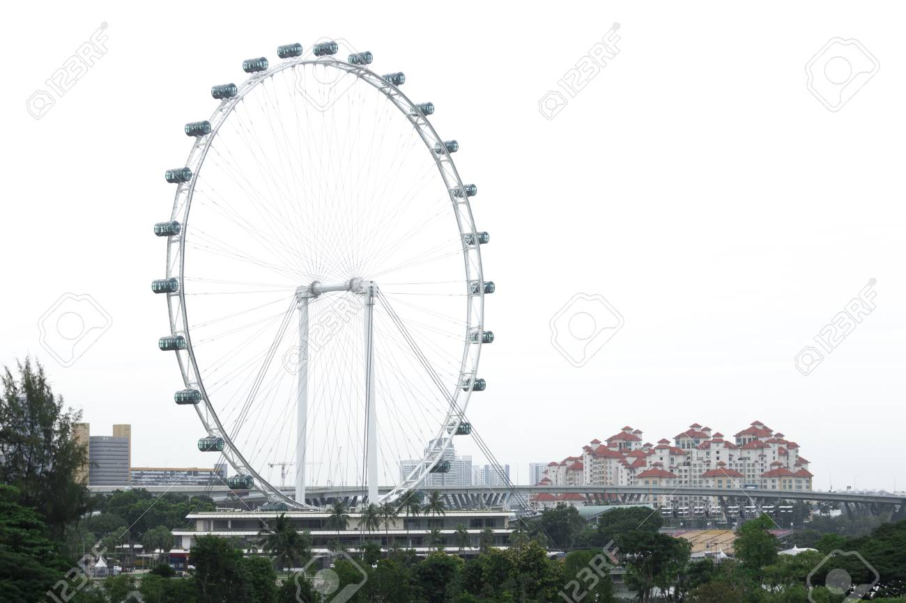 Singapore Flyer La Noria Mas Grande En El Mundo Fotos Retratos