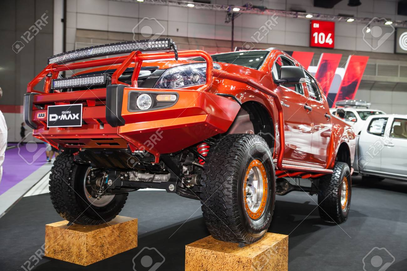 Bangkok August 1 Isuzu D Max 4x4 Display At Big Motor Sale Stock Photo Picture And Royalty Free Image Image 43800153