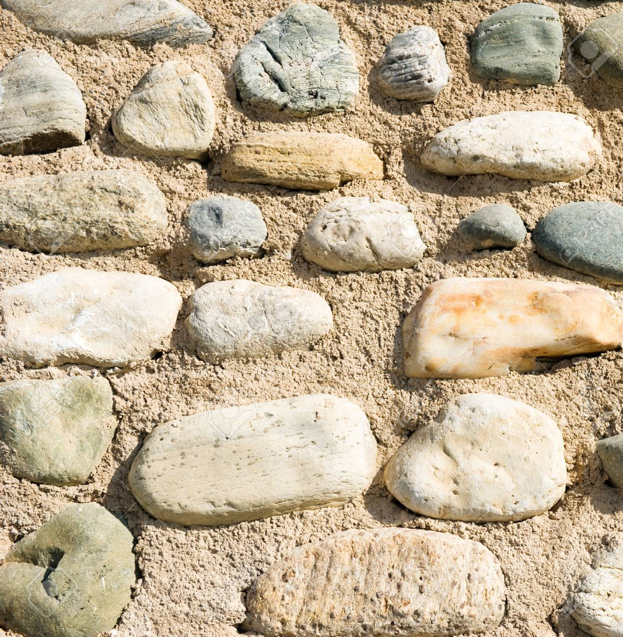 Sand and stones background Stock Photo - 10747308