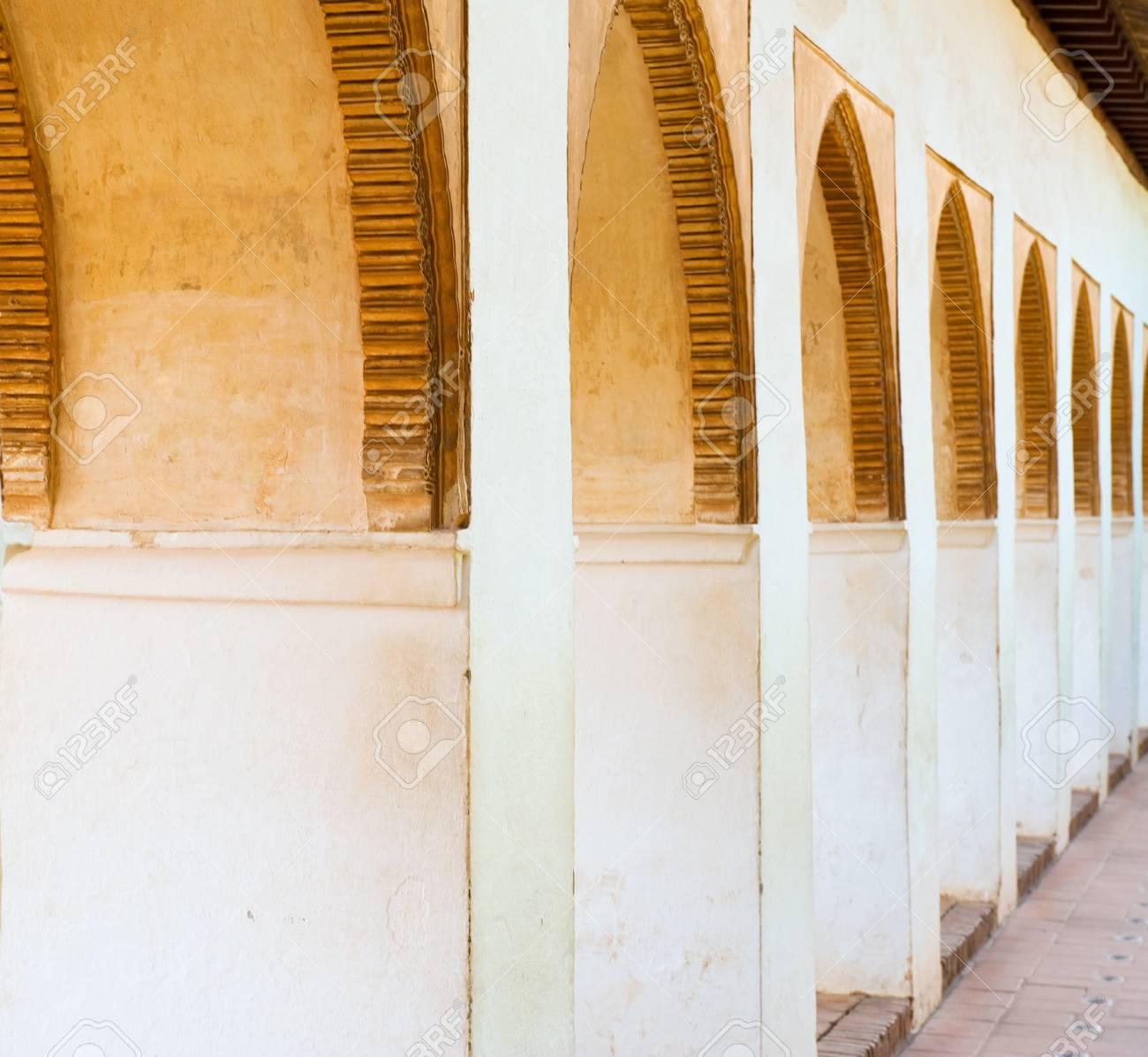 Alhambra arches. Granada Spain Stock Photo - 10909794