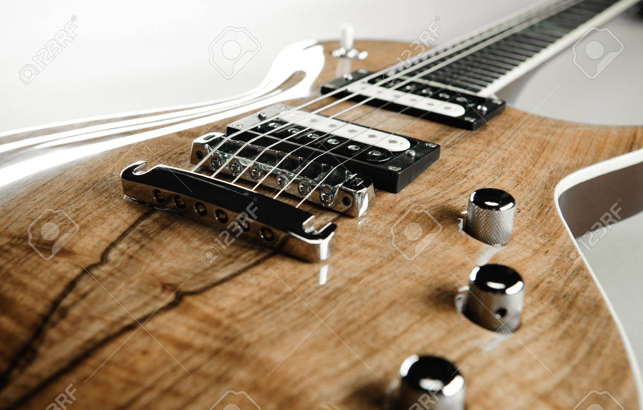 Electric Guitar Close Up Stock Photo Picture And Royalty Free Image