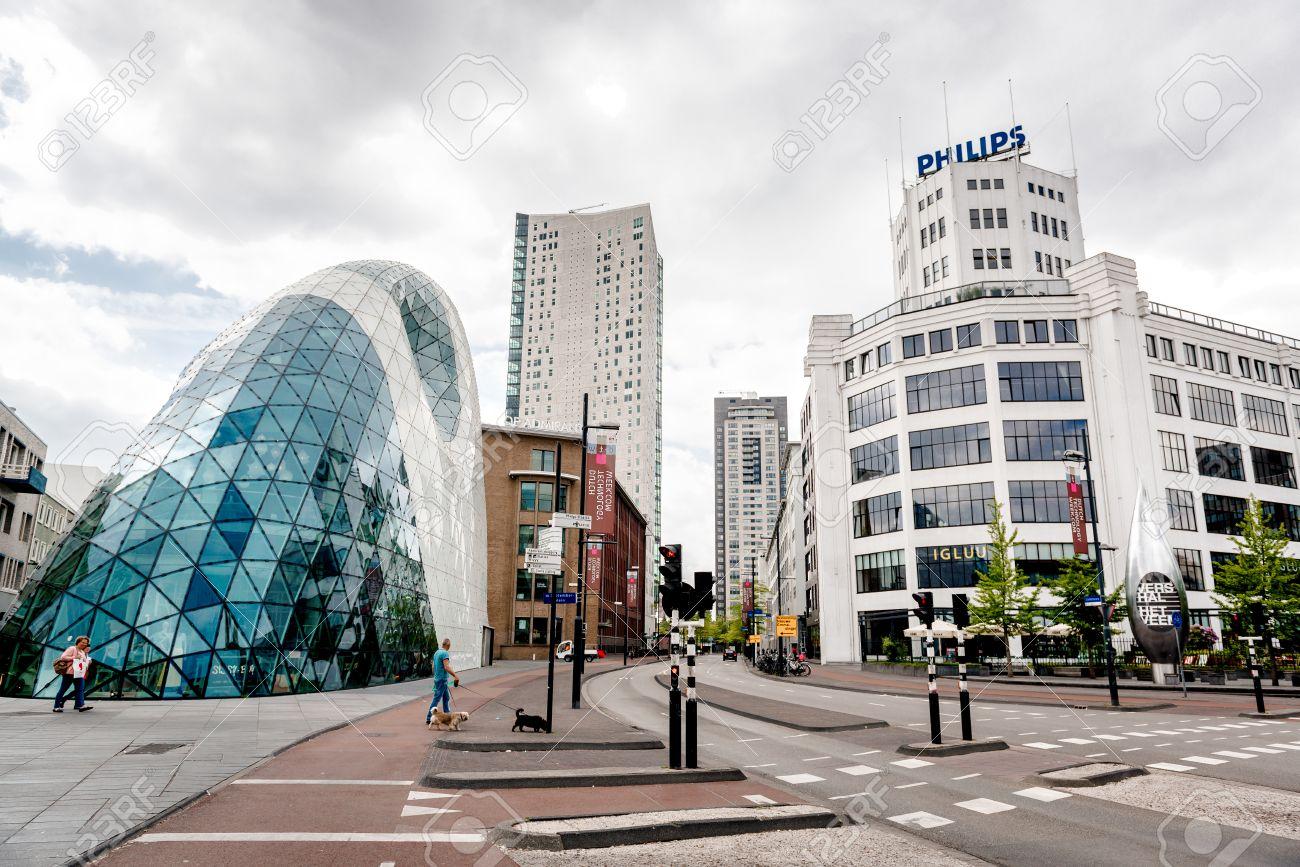 アイントホーフェン, オランダ - 2015 年 5 月 24 日: 旧フィリップス ...