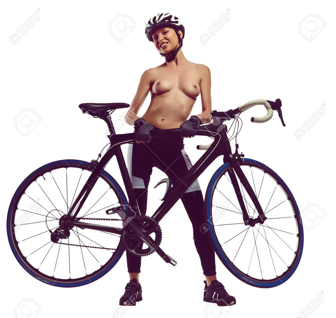 Nude porn women on bicycles — img 1