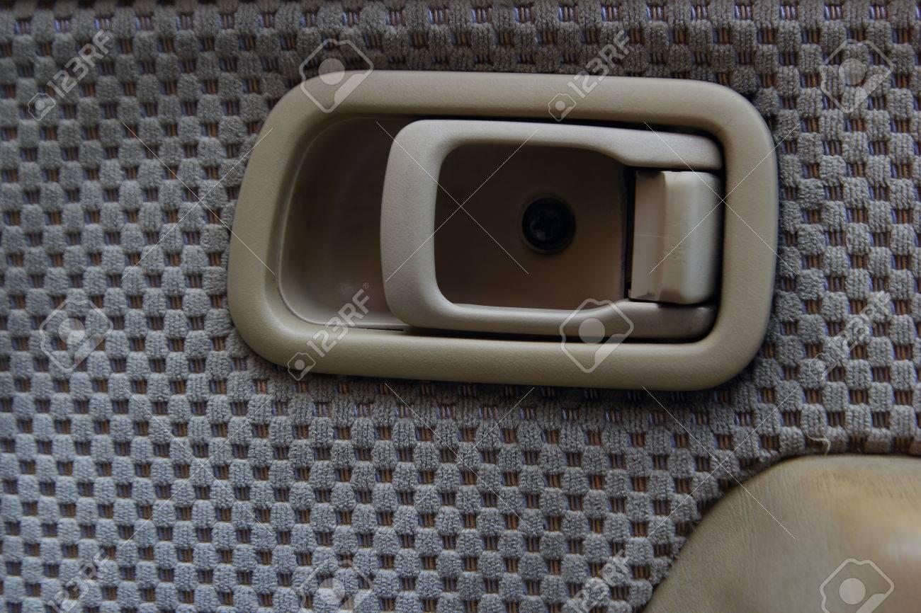 inside car door handle. Exellent Door Closeup A Car Door Inside Open Handle Stock Photo  25206159 Intended Inside Car Door Handle