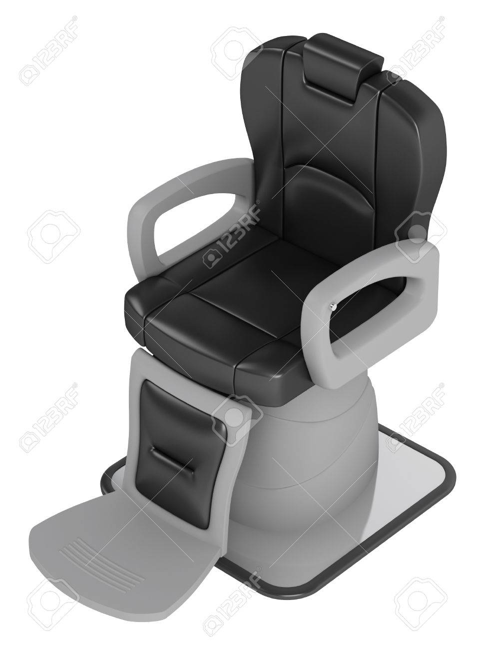 Cool Black Hairdressing Salon Chair Isolated On White Background Dailytribune Chair Design For Home Dailytribuneorg