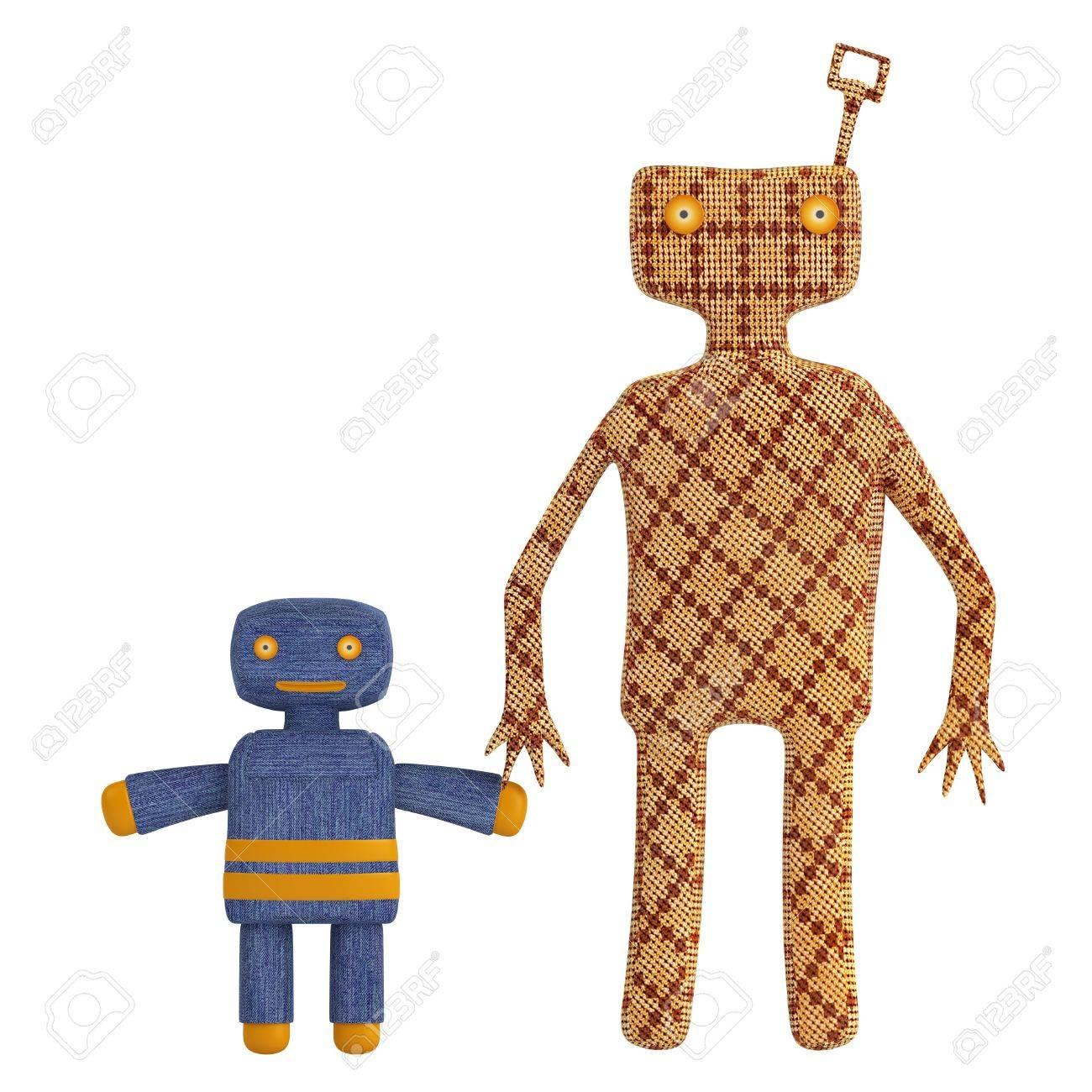 Par Un D'un Vieux Jouets Clé Figures Enfant Tenant Avec Et En De Adulte Tôle Jusqu'à Mécaniques Sous Vent La Stylisées Des Copies Forme O0wknP