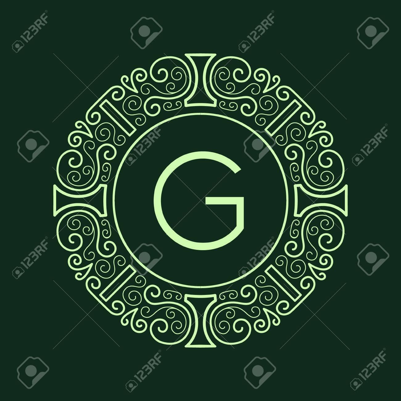 Luxury vintage monogram for letter g nouveau style line pattern luxury vintage monogram for letter g nouveau style line pattern vector lines spiritdancerdesigns Choice Image