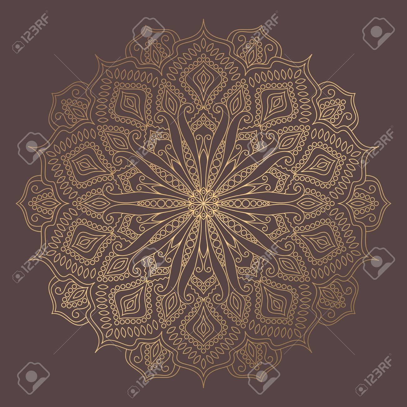 Mandala Vector Design Element - 99177649