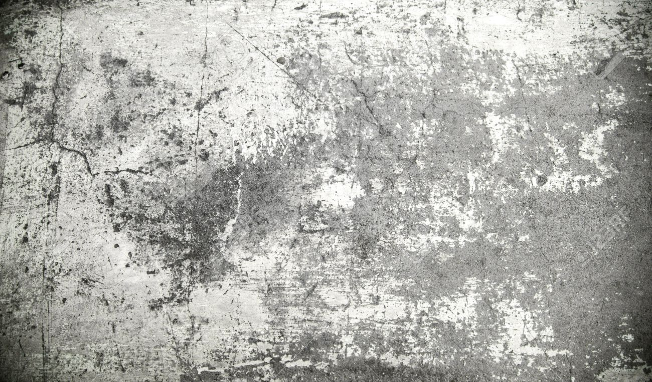 Grunge Cement Background Darken Effect Stock Photo