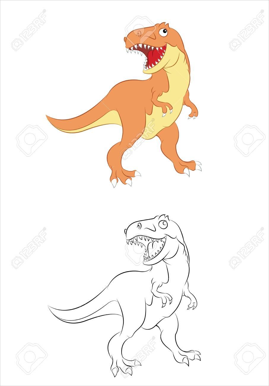 Tyrannosaurus Stock Vector - 17216293