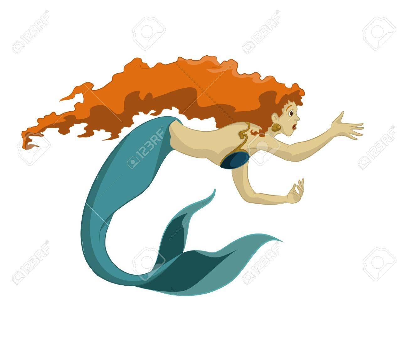 Mermaid Stock Vector - 17354431
