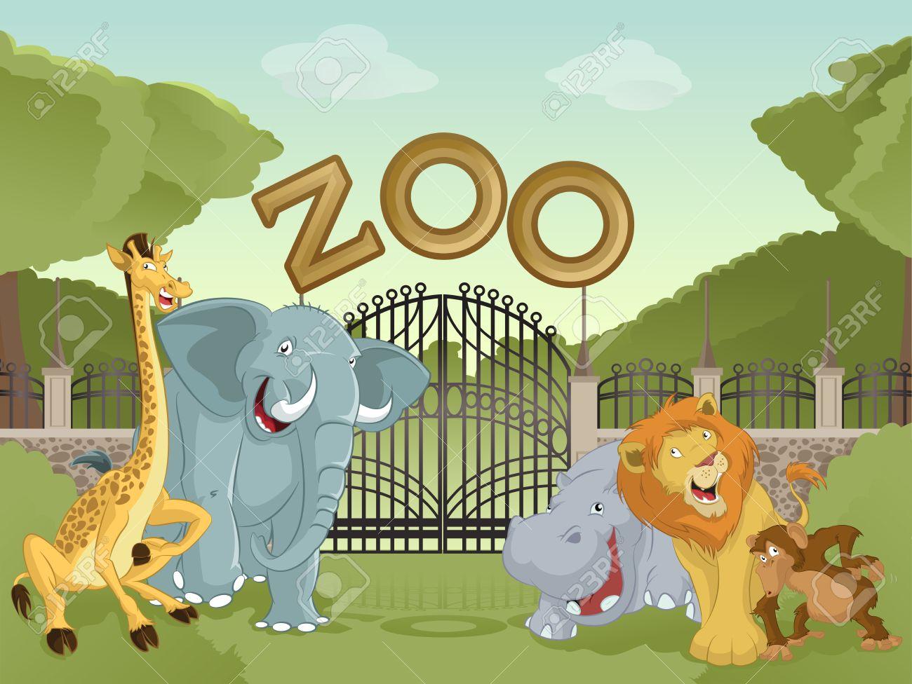 Картинки по запросу zoo cartoon