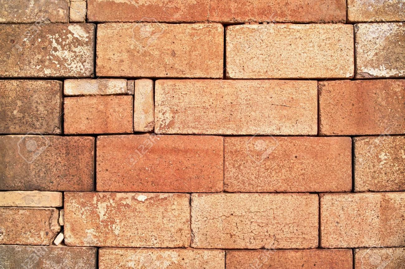 Stack of red bricks Stock Photo - 4906739