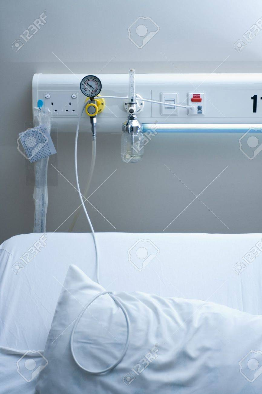 inpatient bed in hospital Stock Photo - 6582885